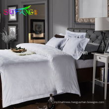 2018 hotel linen/400TC white hotel linen hotel bed sheets egyptian cotton