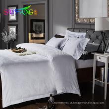 2018 roupa de cama do hotel / hotel de linho branco de 400TC lençóis de cama algodão egípcio