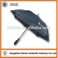 Cor da luz Auto alumínio Frame guarda-chuva reto