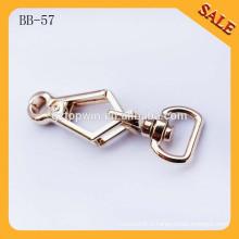 BB57 Pièces détachées en bandoulière métalliques éco-actives pivotantes pour courroie de sac