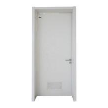 1.0 stainless steel plate door leaf material steel single door for hospital patient room