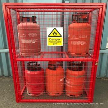 neue Gasflasche Propan Sicherheitskäfig anpassungsfähige Lagerung soluton siehe Variationen