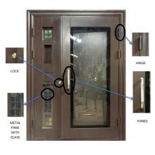 Glass Design Stainless Steel Door