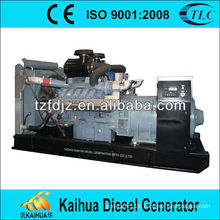 CE Approved Electrical Governor 480KW Mitsubishi Open Type Diesel Generator Set