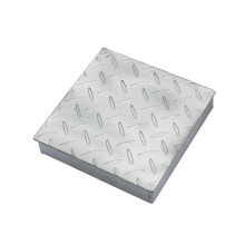 Galvanized Compound Steel Grating with Plain Bearing Bar