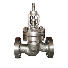 Válvula de globo frente e verso de parafuso de aço