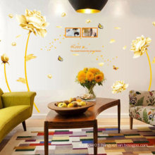 Flower 3D Wall Sticker For Home Decor,Bedroom Wall Sticker Vinyl Decal Sticker