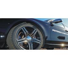 Автомобильная шина из полиэстера