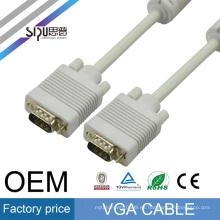 SIPU precio de fábrica al por mayor de color blanco material de cobre macho a cable femenino vag