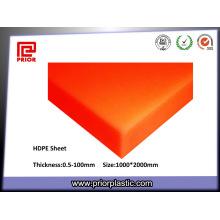 Полиэтилена HDPE листов/прессованные ПНД листов