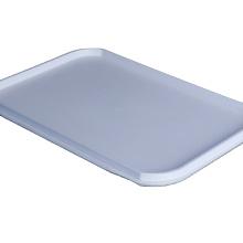 Plastic serving tray