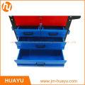 550 Lbs Blech Rot & Blau Heavy Duty Rolling Tool Cabinet mit 5 Schloss Schubladen