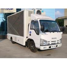 Caminhão móvel para publicidade com tela LED painel de parede