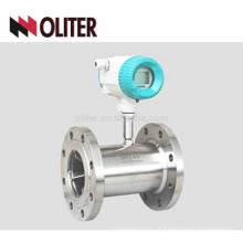 medidor de fluxo de turbina a gás líquido de aço inoxidável