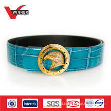2014 Durable wide ladies leather belts