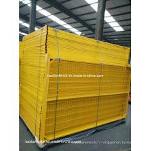 Clôture temporaire en PVC recouvert de PVC 6ftx10FT