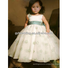 2012 new style quality ribbons ivory lace flower girl dresses 2012168526