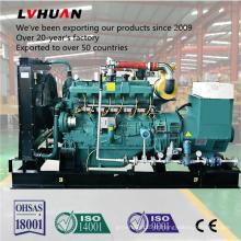 CHP refrigerando fechado de boa qualidade do grupo de gerador do biogás do metano 200kw