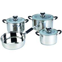 Ustensiles de cuisine antiadhésifs en acier inoxydable 7 pièces