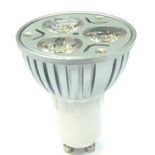 Alta potencia E27 GU10 GU5.3 MR16 24v 12v 3w proyector solar del jardín