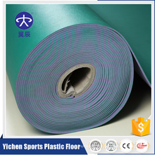 eco-friendly PVC sports flooring for badminton court floor