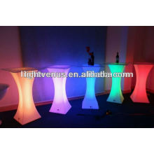 Light up led high table