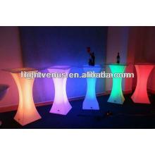 bar mesa de cocktail com luz