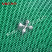 CNC que da vuelta a las piezas que trabajan a máquina para los recambios de la alta precisión de la industria electrónica Vst-0902