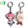 Custom Soft PVC Cute Design Cartoon Figure Keychain