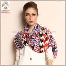 2015 new products Houndstooth long thick Wool Scarf