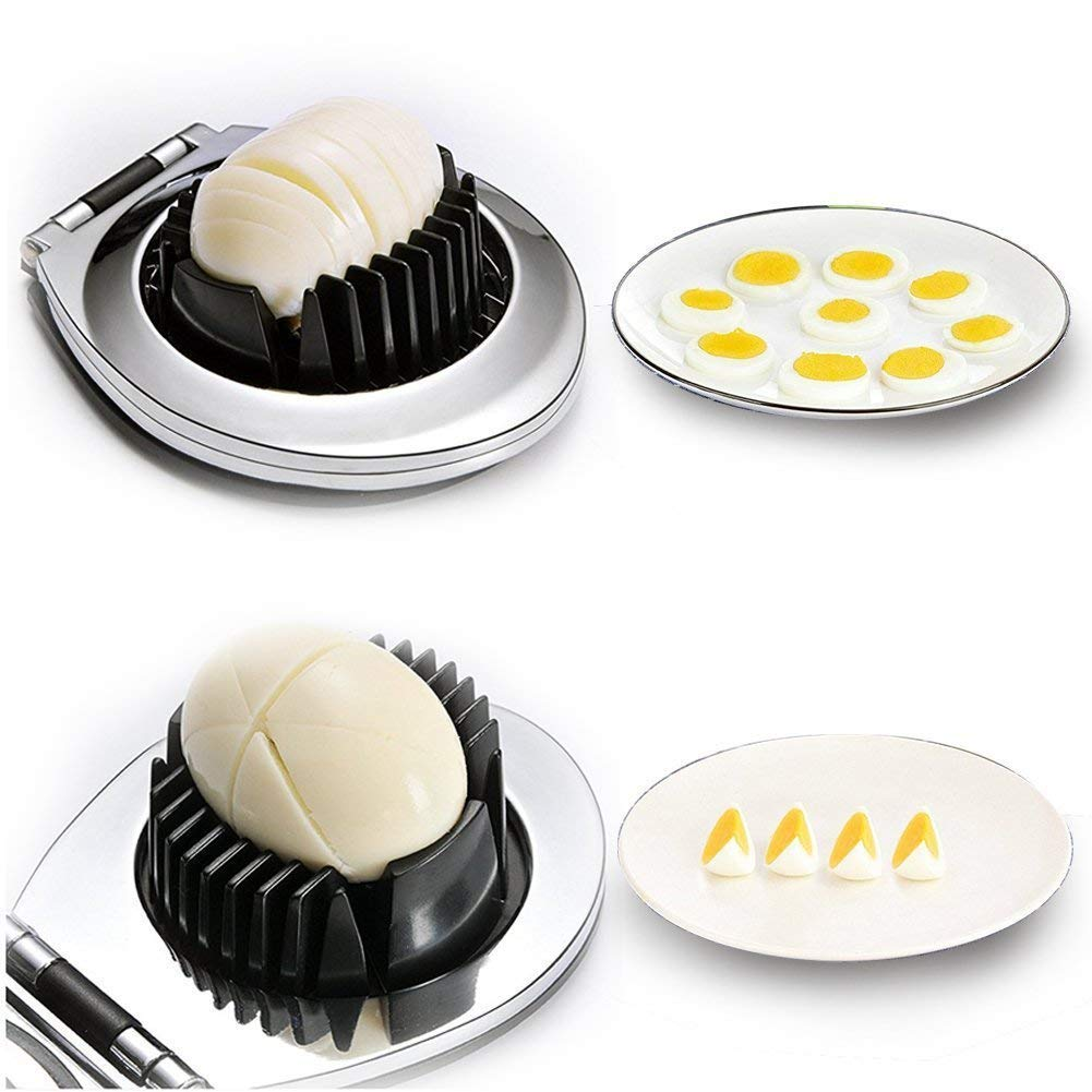 egg slicer strawberries