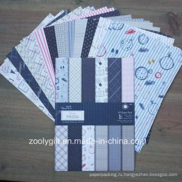 Уникальный дизайн A5 Scrapbook Paper Pack Scrapbooking Patterned Paper