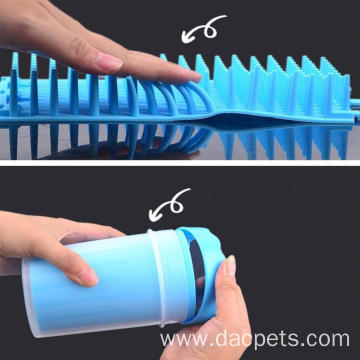 Soft Silicone Portable Dog Paw Mud Cleaner