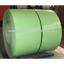 material de techo prepintado bobinas de acero galvanizado