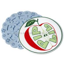 Hot Selling Custom Soft PVC Coaster (Coaster-15)