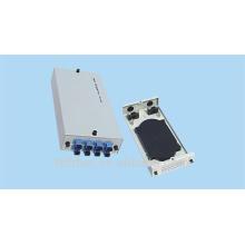 Panel de remiendo de fibra óptica de 8 puertos de montaje en pared, marco de distribución de fibra óptica ST,