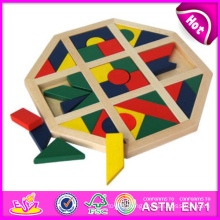 2014 New Wooden Baby Puzzle Toys, High Quality Wooden Block Baby Puzzle Toys, Hot Sale Wooden Block Baby Puzzle Toys W13A050