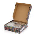 High Quality Adult Indoor IQ Puzzle Game with Packaging Box Custom