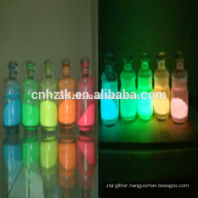Photoluminescent Pigment for luminescent fibre etc