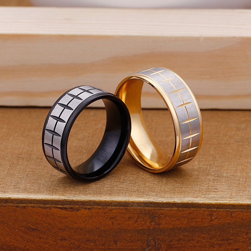 Two Tone Ring Band