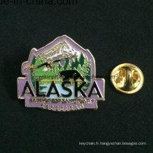 Insigne en métal d'arbre avec la goupille de sécurité, insignes faits sur commande bon marché