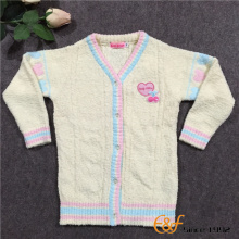 Hairy Yarn Sweater for Girls