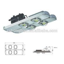 Iluminación llevada del túnel al aire libre 80w 120w 160w 200w Puente Bridgelux del poder más elevado Meanwell conductor CE ROHS DLC aprobación IP65 impermeable