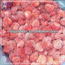 Fresas en rodajas congeladas