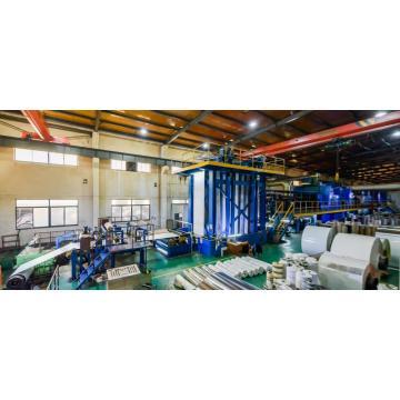 Ligne de machines à panneaux composites en aluminium A2