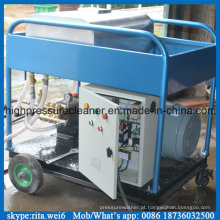 A pintura remove a máquina de sopro molhada de alta pressão da limpeza 500bar do líquido de limpeza
