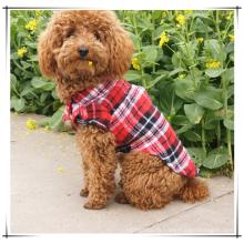 Weiches beiläufiges Haustier-Plaid-Hemd