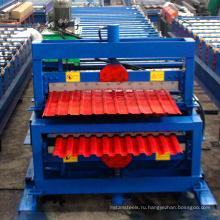 типа Россия xinnuo С8-С21 двойной слой оборудование для производства металлочерепицы