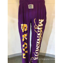 Pantalones largos con estampado de posicionamiento para hombres