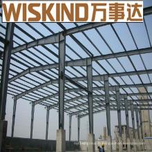 Structure en acier d'entrepôt d'atelier de cadre en acier de construction de Wiskind